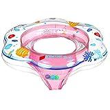 plceo Kleinkind Kinder Schwimmender Schwimmen Ring Aufblasbarer Baby Schwimmring Hals (col1)