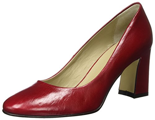 Noe Antwerp Damen Nirce Pump Pumps, Rot (Amaranto), 41 EU