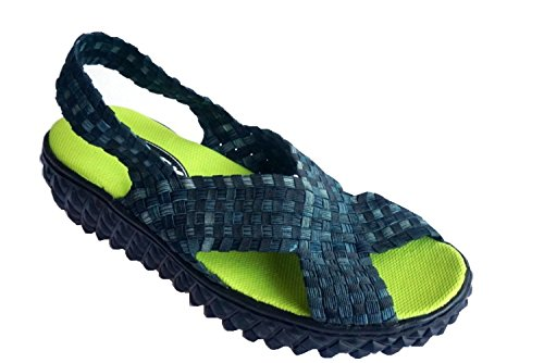 ROCK SPRING PRAIA DA PIPA DONNA WASHED BLACK 41