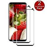 Pufee Verre Trempé pour Samsung Galaxy S9 [2 Pack] Protecteur écran pour Samsung...