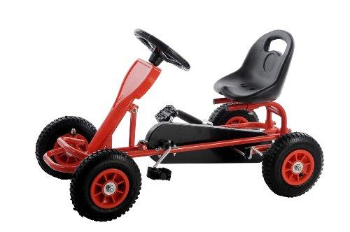 Preisvergleich Produktbild SixBros. Pedal GoKart Tretauto GoCart Rot - F90C/691