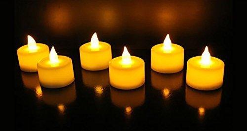 Satyam Kraft Led Tea Light Candles Diwali Gift /Home Decor/ Wedding/ Birthday/...