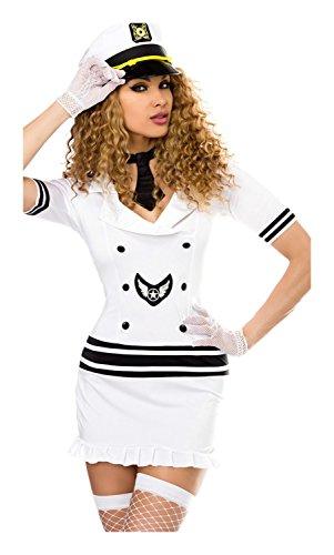Piloten-Kostüm von Saresia roleplay XS-M (Pilot Frau Kostüm)