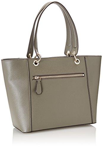 Guess Damen Hwvg6691230 Shopper, 15 x 26.5 x 42 cm Grau (Taupe)