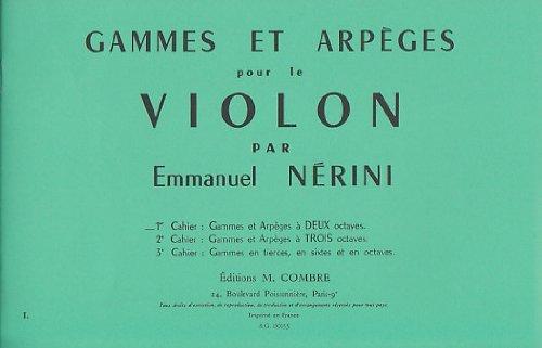 Gammes et arpèges Vol.1 (à 2 octaves) ...