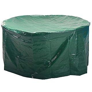 ANSIO Runder Patio Set Cover Gartenmöbelbezug für den Außenbereich / Patio Cover Größe: 190 x 80 cm / 74,8 x 31,5 Zoll