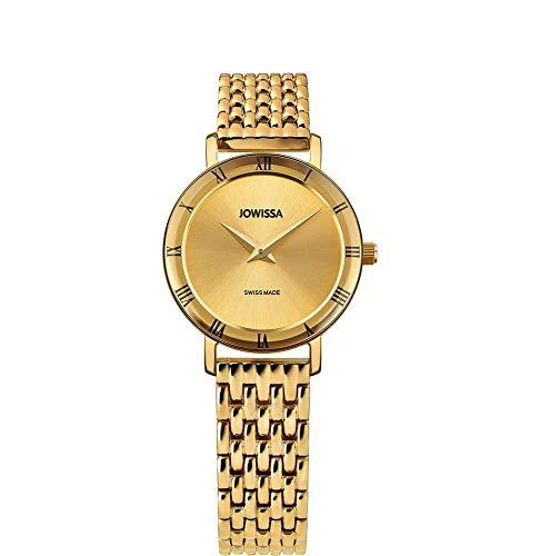 Jowissa Roma Swiss J2.287.S - Reloj de Pulsera para Mujer, Color Dorado
