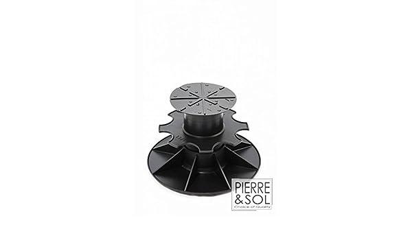 C0 PV 30 /à 50 mm plat Plot r/églable simple et /économique Solidor