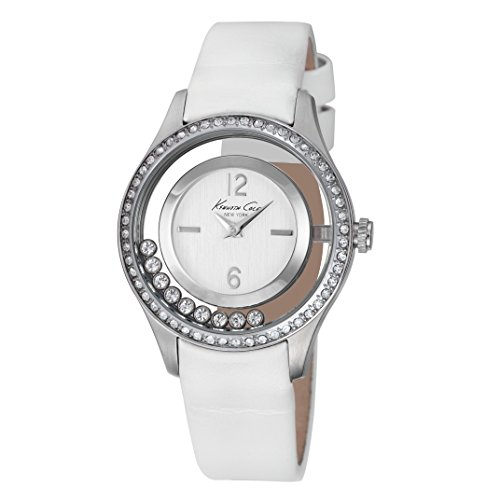montre-kenneth-transparency-femme-blanche-ikc2881