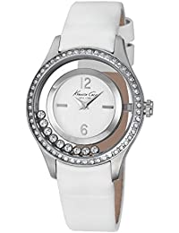 Montre Kenneth Transparency femme blanche IKC2881
