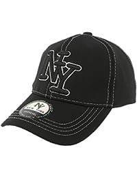 Casquette NY Enfant Noire Baseball de 7 à 12 ans - Garçon