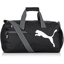 PUMA bolsa fundamentals Sports Bag Negro negro Talla:45 x 24 x 24 cm, 24 Liter