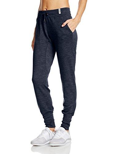 super.natural Damen W Tempo Cuffed Pant Merino Sport-und Freizeithose, Navy Blazer Melange, 38/40 (Wolle Cuffed Hose)