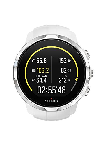 Suunto, Spartan Sport White, GPS Watch for Multisport Athletes, Unisex, 10 Hrs. Battery Life, Water Proof, Colour Touch Screen, White, SS022651000