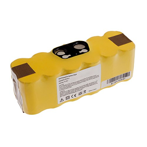 MTEC Akku 3000mAh 43,20Wh 14,4V für iRobot Roomba 500 510 520 521 530 531 532 534 535 540 550 555
