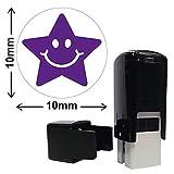 étoile Image Mini Violet pré-encré école Marquage Stamper 10millimètres–Primary Teaching Services