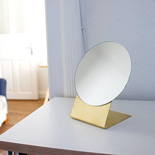 Brass Tischspiegel