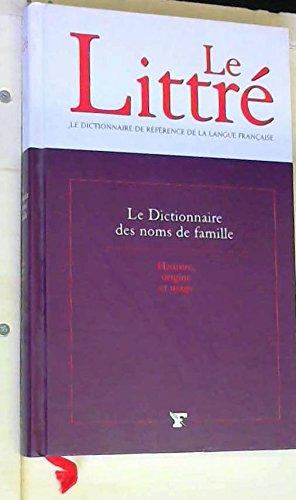 Le dictionnaire des noms de famille