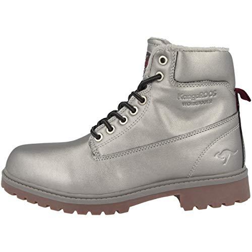 KangaROOS Damen Riveter W III Desert Boots, Mehrfarbig (Silver), 39 EU -