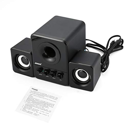 FDBF Bluetooth Computer Speaker Stereo Portable Multimedia usato  Spedito ovunque in Italia