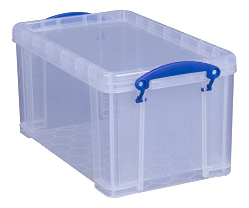 Really Useful Box 8 Liter Stapelbox Aufbewahrungsbox, transparent Storage Tower Box