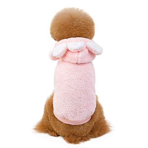 Hundejacke/Hundemantel, Hawkimin Haustier Hundemantel Hund Hoodies Kleidung, Pet Puppy Katze Niedlicher Plüsch Warm Coat Pullover Welpenmantel Wintermantel Kapuzenmantel Winterjacke Hundepullover -
