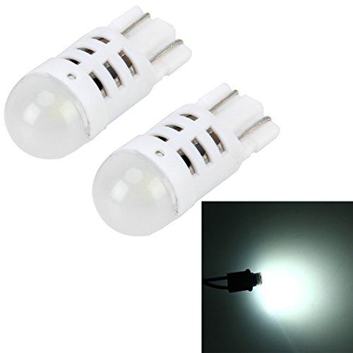 Éclairage de la voiture, Lumière de marqueur de voiture de lumières de dégagement de voiture de 2 PCS T10 3W 200LM 6000K avec 1 lampes de SMD-3030-LED, CC 12V