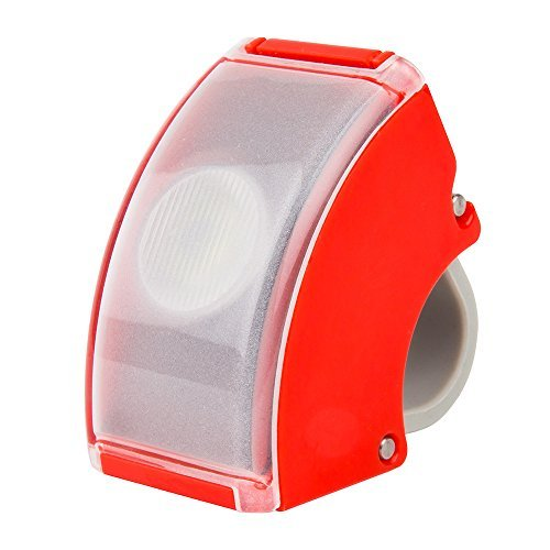 Bookman Curve Front Light - Red by Bookman