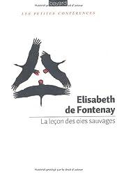 Lecon Des Oies Sauvages (La)