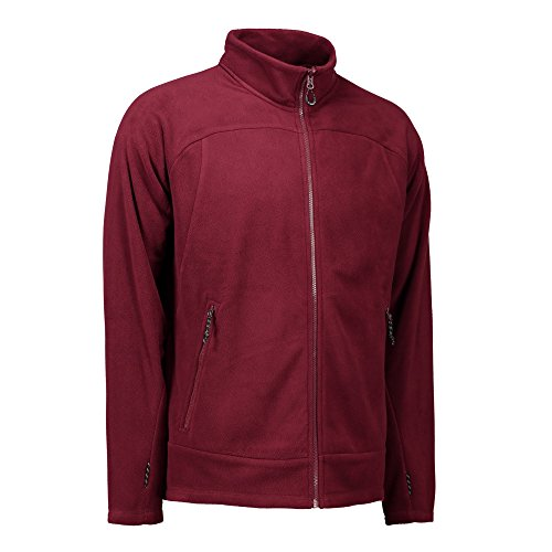 ID herren Zip N Mix Aktiv Fleece Jacke Marineblau