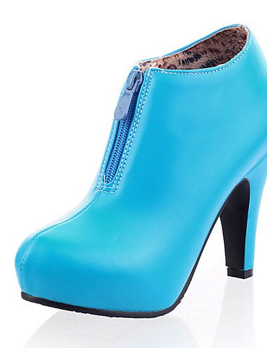 ShangYi Mode Frauen Schuhe Damen Stiefel Frühjahr / Herbst / Winter / Plattform / mode schuhe stiefel Kunstleder / Casual Ferse Andere Mandel
