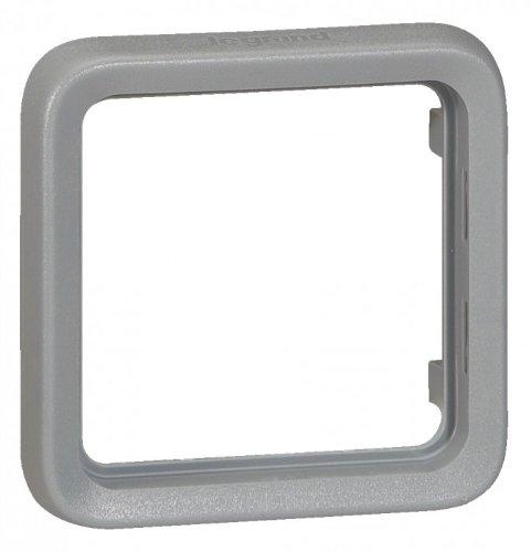 boitier plexo saillie 2 postes horizontal blanc (composable)