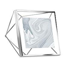 Umbra Prisma Multi Photo Frame in Steel, Chrome