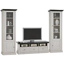 Steens Furniture 7317001213001F Wohnkombination Monaco Kiefer massiv