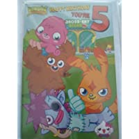 Moshi Monsters Age 5 Birthday Card by Party2u