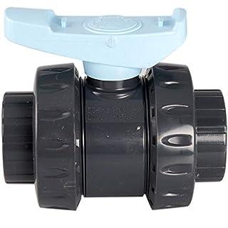 Jardiboutique Ventil PVC FIP Astore/AVF PN16Durchmesser 50mm Ventil Pool