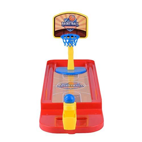 TOYANDONA Desktop Mini Basketball Spiel Tischplatte Schießen Reifen Spielzeug für Kinder Baby