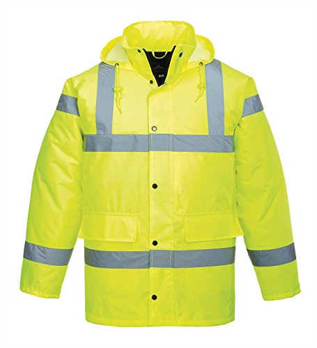 Portwest Hallo-Vis Verkehr Jacke (S460) Yellow