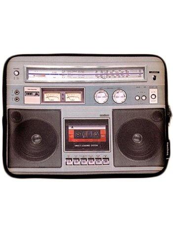 """Laptoptasche 15\"""" Ghettoblaster - Musikanlage"""