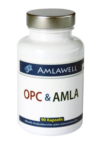 Amlawell OPC & AMLA / 160mg OPC / 90 Kapseln