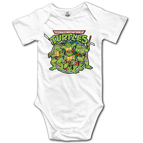 Novelty Teenage Mutant Ninja Turtles Raphael Baby Onesie Infant Clothes 6Months