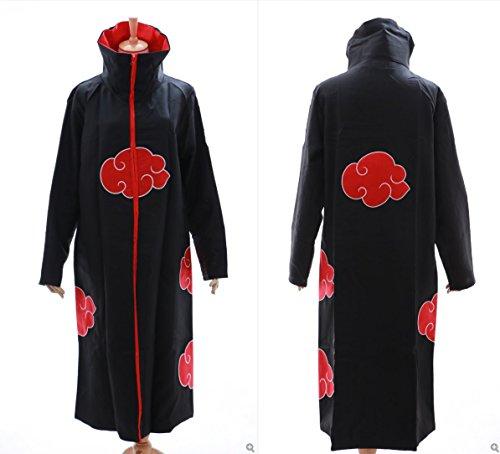 N-01 Naruto Akatsuki Itachi Tobi Mantel Umhang Coat Cosplay Kostüm Kawaii-Story (Gr. (Kostüm Tobi Cosplay)
