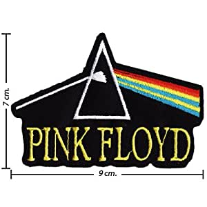 Ecusson brodé Pink Floyd Music Band Logo I Emblem patche Patches