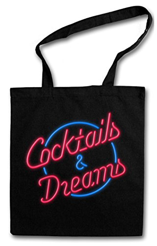Cocktails & Dreams Tom Cruise 80s Cotton Tote Bag