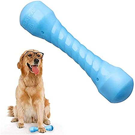 SUOLEITE Hunde Kauspielzeug für Aggressive Kauer, langlebige Hunde Kauen Knochen Tough dauerhafte Gummi Welpen Kauspielzeug für große kleine Hunde