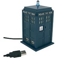 Wesco Doctor Who Tardis USB 4 Port Powered Hub Station