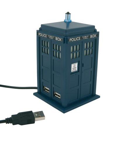 Preisvergleich Produktbild Wesco Doctor Who Tardis USB 4Port Hub Station