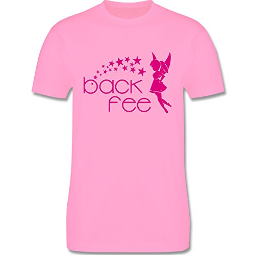 Küche - Back Fee Sterne - Herren Premium T-Shirt Rosa
