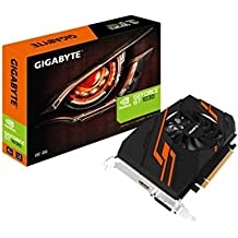 Gigabyte GV-N1030OC-2GI GeForce GT 1030 2GB GDDR5 - Tarjeta gráfica (NVIDIA, GeForce GT 1030, 4096 x 2160 Pixeles, 1265 MHz, 1518 MHz, 4096 x 2160 Pixeles)