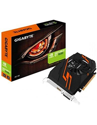 Gigabyte GV-N1030OC-2GI. Familia de procesadores de gráficos: NVIDIA, Procesador gráfico: GeForce GT 1030, Frecuencia del procesador: 1265 MHz. Capacidad memoria de adaptador gráfico: 2 GB, Tipo de memoria de adaptador gráfico: GDDR5, Ancho de datos:...